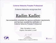 certificate extreme presales professional small