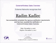 certificate extreme wireless sales small