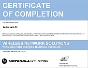 WLAN Assessment Certificate